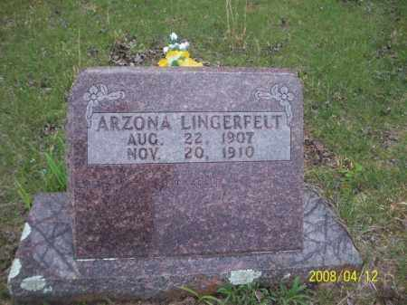 LINGERFELT, ARZONA - Newton County, Arkansas | ARZONA LINGERFELT - Arkansas Gravestone Photos