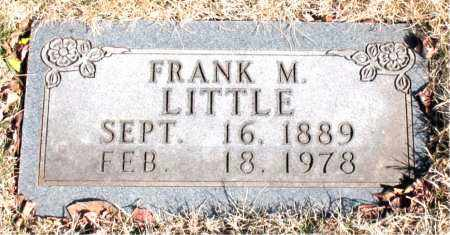 LITTLE, FRANK M. - Newton County, Arkansas | FRANK M. LITTLE - Arkansas Gravestone Photos