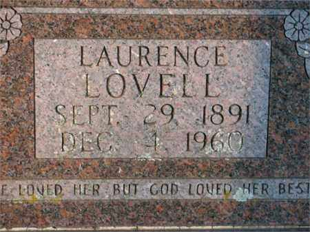 LOVELL, LAURENCE - Newton County, Arkansas | LAURENCE LOVELL - Arkansas Gravestone Photos