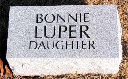 LUPER, BONNIE - Newton County, Arkansas   BONNIE LUPER - Arkansas Gravestone Photos
