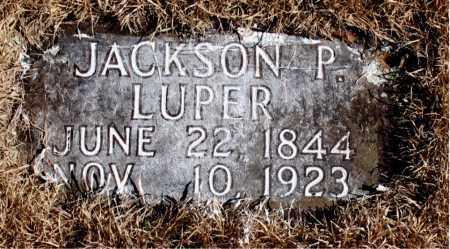 LUPER, JACKSON P. - Newton County, Arkansas | JACKSON P. LUPER - Arkansas Gravestone Photos