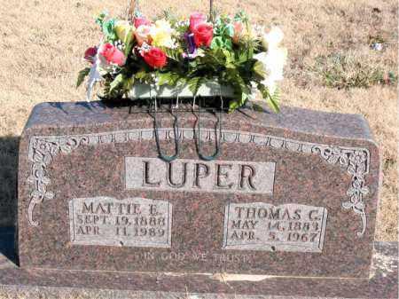 LUPER, THOMAS C. - Newton County, Arkansas | THOMAS C. LUPER - Arkansas Gravestone Photos