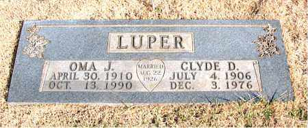 LUPER, OMA J. - Newton County, Arkansas | OMA J. LUPER - Arkansas Gravestone Photos