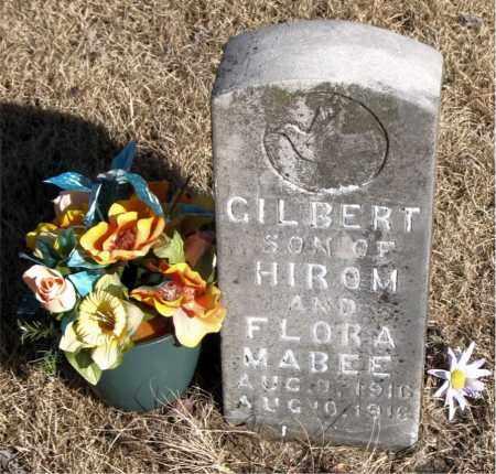MABEE, GILBERT - Newton County, Arkansas | GILBERT MABEE - Arkansas Gravestone Photos