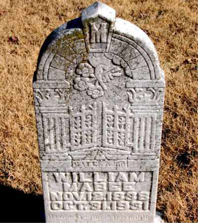 MABEE, WILLIAM - Newton County, Arkansas | WILLIAM MABEE - Arkansas Gravestone Photos