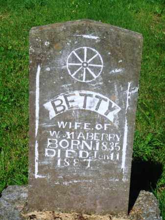 "MABERRY, ELIZABETH ""BETTY"" - Newton County, Arkansas 