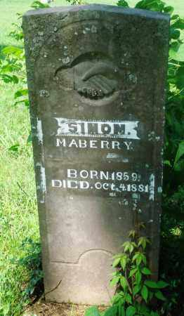 MABERRY, SIMON - Newton County, Arkansas | SIMON MABERRY - Arkansas Gravestone Photos