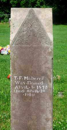 "MABERRY, THOMAS F ""TOM"" - Newton County, Arkansas 