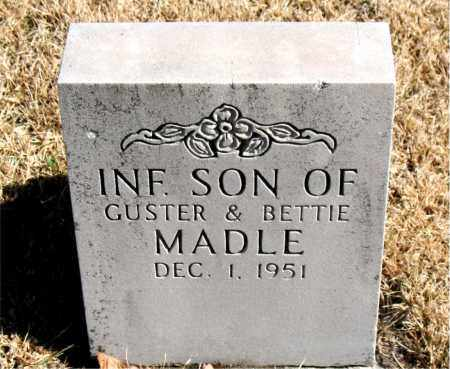 MADLE, INFANT SON - Newton County, Arkansas | INFANT SON MADLE - Arkansas Gravestone Photos