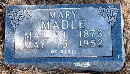 MADLE, MARY - Newton County, Arkansas | MARY MADLE - Arkansas Gravestone Photos