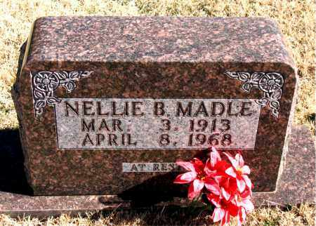 MADLE, NELLIE - Newton County, Arkansas | NELLIE MADLE - Arkansas Gravestone Photos
