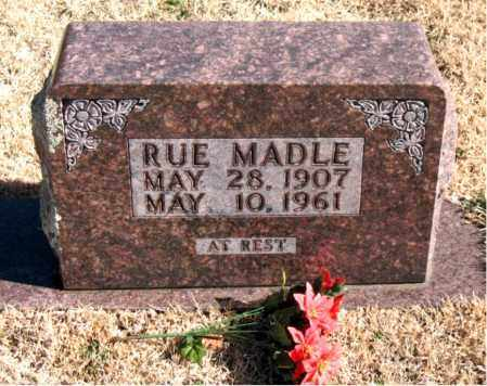 "MADLE, WILLIAM MCRUE ""RUE"" - Newton County, Arkansas 