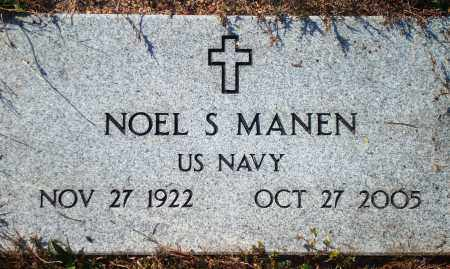 MANEN  (VETERAN), NOEL S - Newton County, Arkansas | NOEL S MANEN  (VETERAN) - Arkansas Gravestone Photos