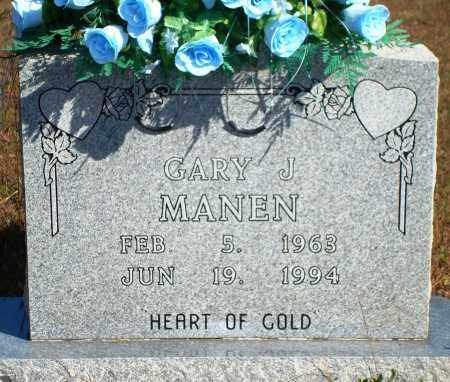 MANEN, GARY J. - Newton County, Arkansas | GARY J. MANEN - Arkansas Gravestone Photos