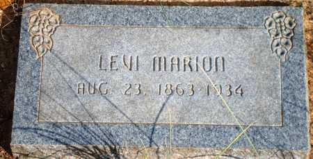 MARION, LEVI - Newton County, Arkansas | LEVI MARION - Arkansas Gravestone Photos