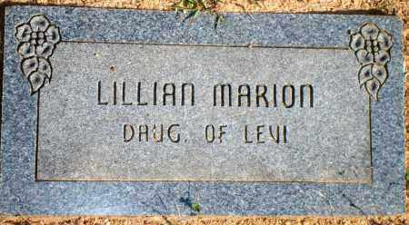MARION, LILLIAN - Newton County, Arkansas | LILLIAN MARION - Arkansas Gravestone Photos
