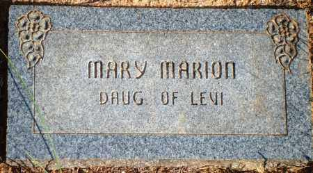 MARION, MARY - Newton County, Arkansas | MARY MARION - Arkansas Gravestone Photos