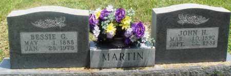 MARTIN, JOHN H - Newton County, Arkansas | JOHN H MARTIN - Arkansas Gravestone Photos