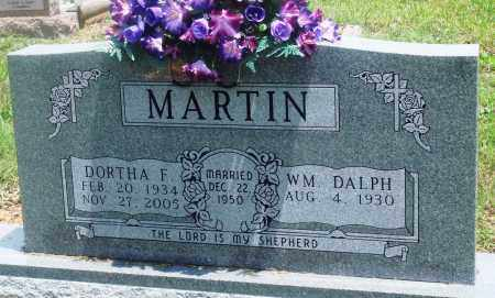 MARTIN, DORTHA F - Newton County, Arkansas | DORTHA F MARTIN - Arkansas Gravestone Photos