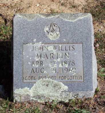 MARTIN, JOHN WILLIS - Newton County, Arkansas | JOHN WILLIS MARTIN - Arkansas Gravestone Photos