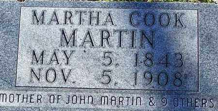COOK MARTIN, MARTHA - Newton County, Arkansas | MARTHA COOK MARTIN - Arkansas Gravestone Photos