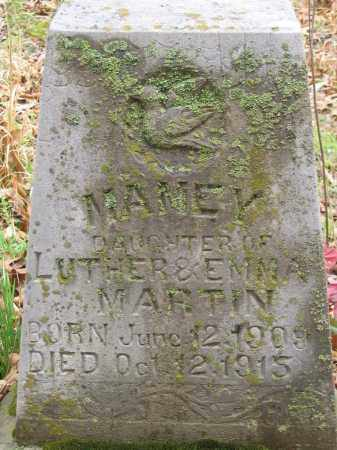 MARTIN, MAMAY - Newton County, Arkansas | MAMAY MARTIN - Arkansas Gravestone Photos