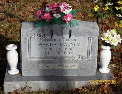 MASSEY, WANDA - Newton County, Arkansas | WANDA MASSEY - Arkansas Gravestone Photos