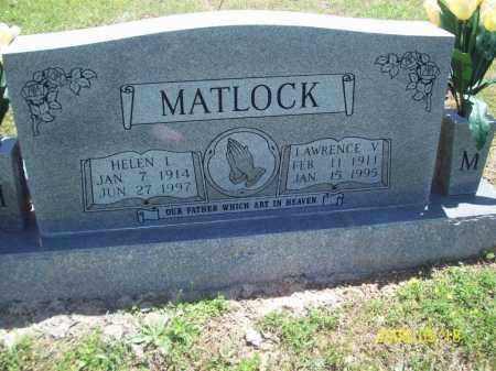MATLOCK, HELEN L - Newton County, Arkansas | HELEN L MATLOCK - Arkansas Gravestone Photos