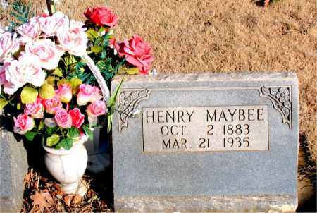MAYBEE, HENRY - Newton County, Arkansas | HENRY MAYBEE - Arkansas Gravestone Photos