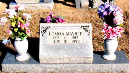 MAYBEE, LOMON - Newton County, Arkansas | LOMON MAYBEE - Arkansas Gravestone Photos