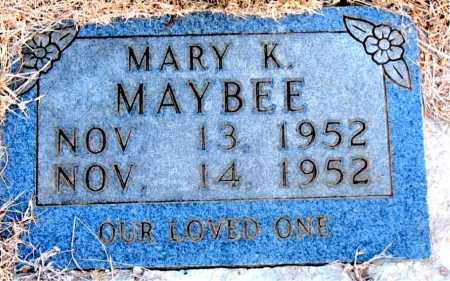 MAYBEE, MARY K. - Newton County, Arkansas | MARY K. MAYBEE - Arkansas Gravestone Photos