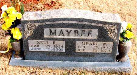 MAYBEE, NELL R. - Newton County, Arkansas | NELL R. MAYBEE - Arkansas Gravestone Photos