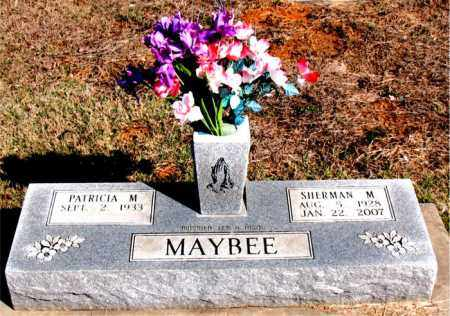 MAYBEE, SHERMAN M. - Newton County, Arkansas | SHERMAN M. MAYBEE - Arkansas Gravestone Photos