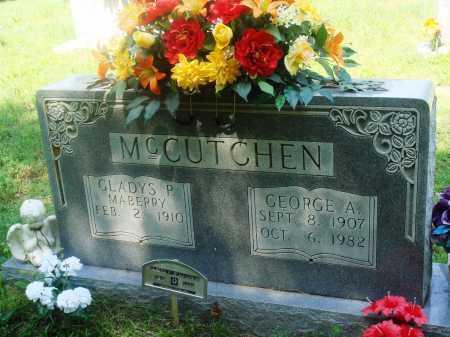 MCCUTCHEN, GLADYS P - Newton County, Arkansas | GLADYS P MCCUTCHEN - Arkansas Gravestone Photos