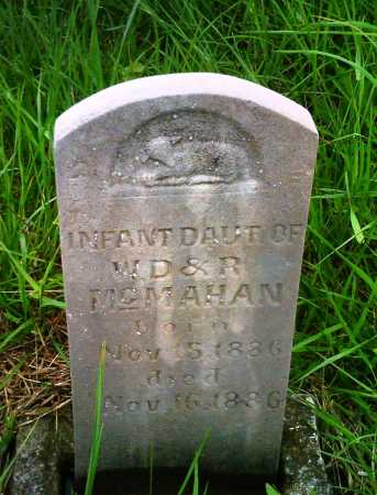 MCMAHAN, INFANT DAUGHTER - Newton County, Arkansas | INFANT DAUGHTER MCMAHAN - Arkansas Gravestone Photos