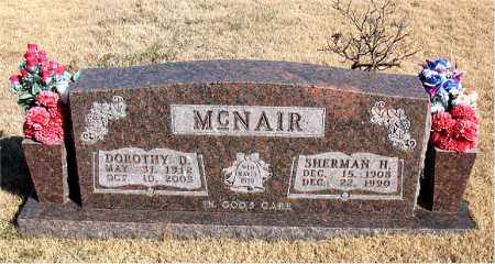 MCNAIR, SHERMAN H. - Newton County, Arkansas | SHERMAN H. MCNAIR - Arkansas Gravestone Photos