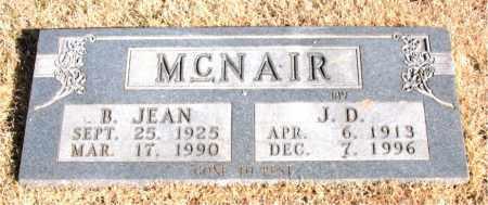 MCNAIR, B. JEAN - Newton County, Arkansas | B. JEAN MCNAIR - Arkansas Gravestone Photos