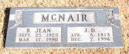 MCNAIR, B. JEAN - Newton County, Arkansas | B. JEAN MCNAIR - Arkansas Gravestone Photos