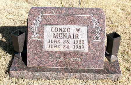 MCNAIR, LONZO W. - Newton County, Arkansas | LONZO W. MCNAIR - Arkansas Gravestone Photos