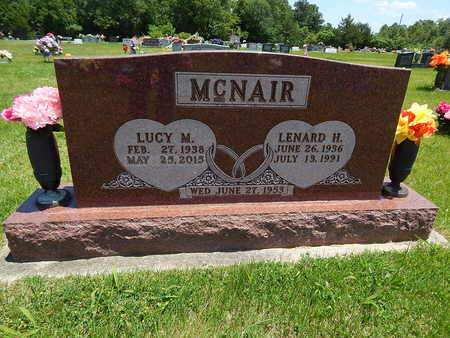 MCNAIR, LENARD H. - Newton County, Arkansas | LENARD H. MCNAIR - Arkansas Gravestone Photos