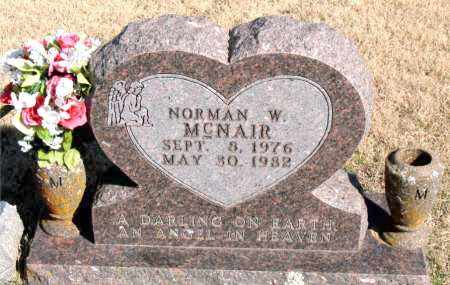 MCNAIR, NORMAN W. - Newton County, Arkansas | NORMAN W. MCNAIR - Arkansas Gravestone Photos