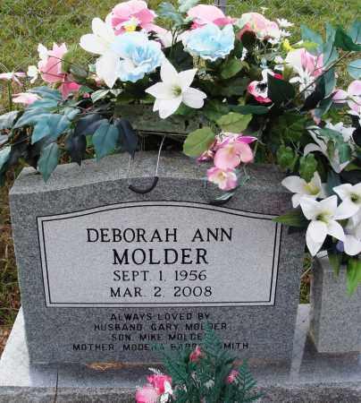 MOLDER, DEBORAH ANN - Newton County, Arkansas | DEBORAH ANN MOLDER - Arkansas Gravestone Photos