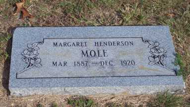 HENDERSON MOLE, MARGARET - Newton County, Arkansas | MARGARET HENDERSON MOLE - Arkansas Gravestone Photos