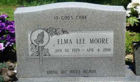 MOORE, ELMA LEE - Newton County, Arkansas | ELMA LEE MOORE - Arkansas Gravestone Photos
