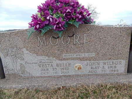 MOORE, JOHN WILBUR - Newton County, Arkansas | JOHN WILBUR MOORE - Arkansas Gravestone Photos