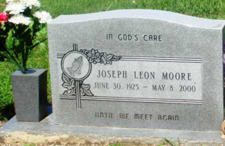 MOORE, JOSEPH LEON - Newton County, Arkansas | JOSEPH LEON MOORE - Arkansas Gravestone Photos