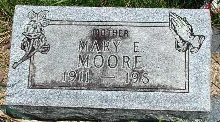 MOORE, MARY E - Newton County, Arkansas | MARY E MOORE - Arkansas Gravestone Photos