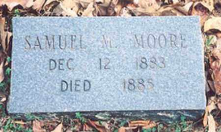 MOORE, SAMUEL M. - Newton County, Arkansas | SAMUEL M. MOORE - Arkansas Gravestone Photos
