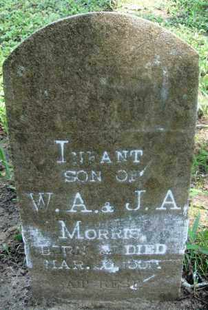 MORRIS, INFANT SON - Newton County, Arkansas | INFANT SON MORRIS - Arkansas Gravestone Photos
