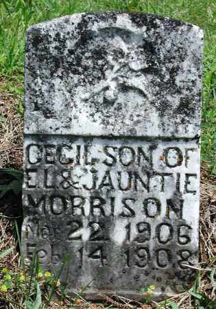 MORRISON, CECIL - Newton County, Arkansas | CECIL MORRISON - Arkansas Gravestone Photos